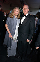 MR & MRS RANDOLPH CHURCHILL, he is great grandson of war time leader Winston Churchill at the 28th Game Conservancy Trust Ball in Battersea Park, London SW11 on 18th May 2006.<br />