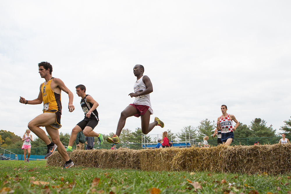 Collegiate Track Conference  Cross-Country Men's Championship at Gloucester County College in Sewell, NJ on Saturday October 19, 2013. (photo / Mat Boyle)