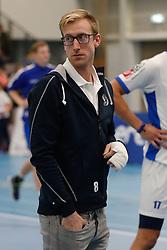 20181103 NED: Eredivisie, Sliedrecht Sport - Abiant Lycurgus: Sliedrecht<br />Chris Voth (8) of Abiant Lycurgus<br />©2018-FotoHoogendoorn.nl / Pim Waslander