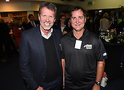 Colin Batch (head coach of the Black Sticks Men) and Mark Hager ( head coach of the Black Sticks Women ).Black Sticks Hockey World Cup Farewell Function at Auckland Grammar Club. Auckland. New Zealand. Thursday 15 May 2014. Photo: Andrew Cornaga/Photosport.co.nz