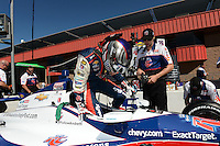 Marco Andretti, Auto Club Speedway, Fontana, CA 09/15/12