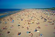 The Hague beach on a summer day. © Holland Kodak Ektar serie