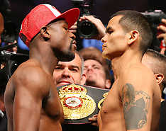 May 2, 2014: Floyd Mayweather Jr. vs Marcos Maidana Weigh In