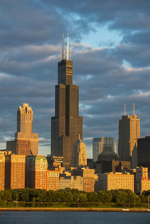 USA,Illinois, Midwest, Cook County, Chicago, Willis tower