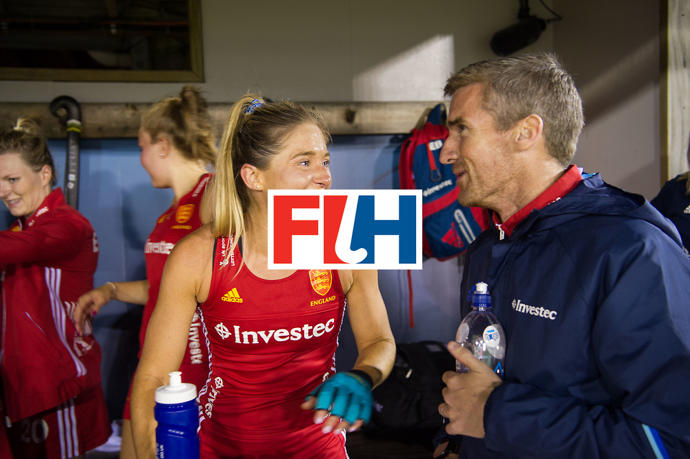 AUCKLAND - Sentinel Hockey World League final women<br /> Match id 10302<br /> ENG v China<br /> Foto:  Suzy Petty and David RALPH <br /> WORLDSPORTPICS COPYRIGHT FRANK UIJLENBROEK