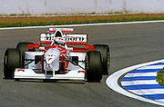 Nigel Mansell drives for McLaren, returning to Formula One after IndyCars in 1995. Photo: Jeff Crow/Photosport.co.nz