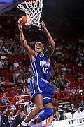 Francia 01/07/1999<br /> Campionati Europei di Basket Francia 1999<br /> Italia-Russia<br /> Carlton Myers