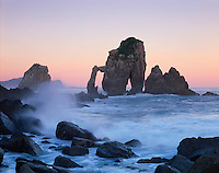 Mission Barrika area, Bay of Biscay, Basque country, Gaztelugatxe beach/coast