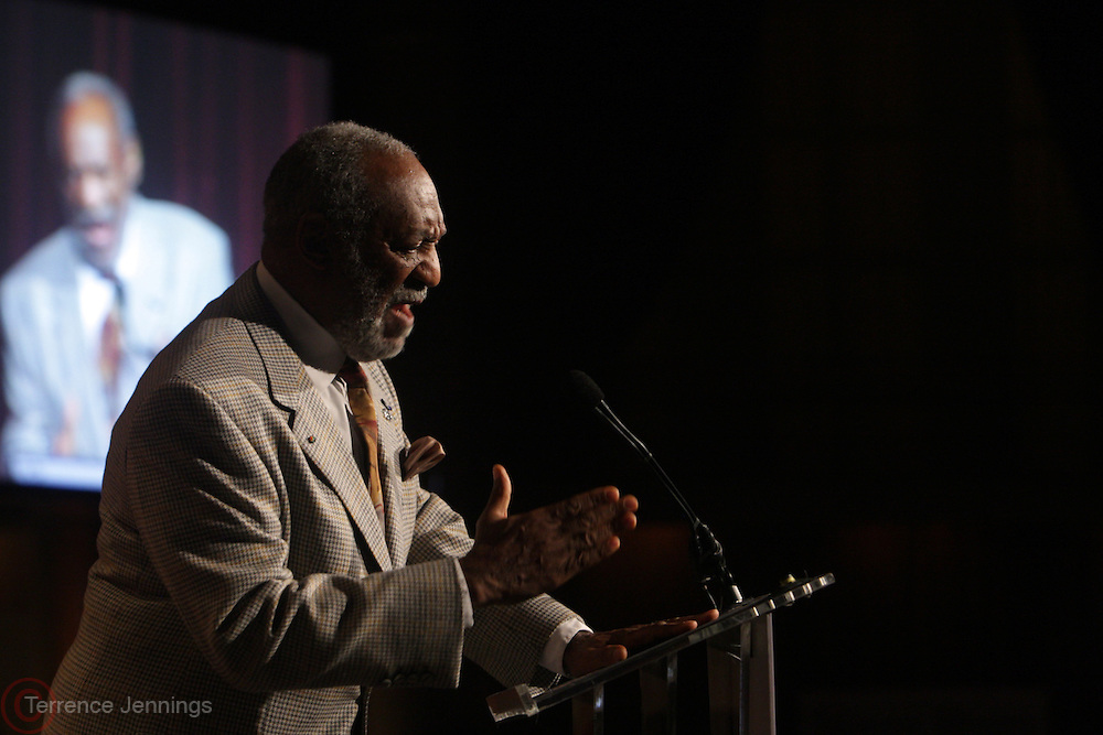 """New York, NY-April 18: Actor/Comedian/Author/Educator Dr. William Henry """" Bill """" Cosby attends Rev. Al Sharpton's National Action Network's Keeper of the Dream Awards held at Cipriani's Wall Street on April 18, 2012 in New York City. (Photo by Terrence Jennings)"""