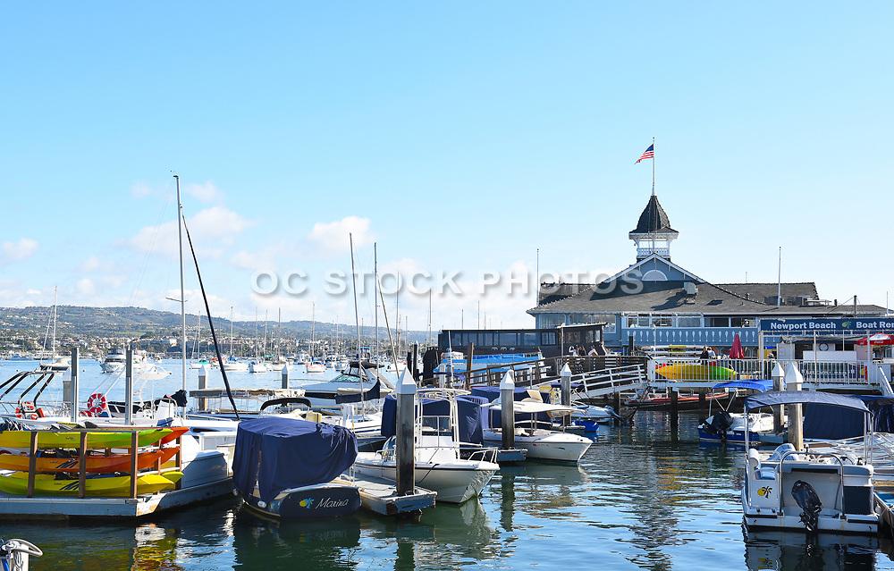 The Balboa Pavilion Newport Beach