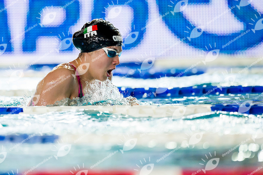 MELONI Giorgia<br /> Team Italy<br /> 200m Breaststroke - Youth Girls<br /> Energy Standard Cup 2016<br /> Ge.Tur Complex - Lignano Sabbiadoro (UD)<br /> 30 Aprile-1 May 2016<br /> Photo A.Masini/Deepbluemedia