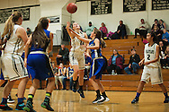 Winooski's Lydia Nattress (12) takes a shot during the girls basketball game between Vergennes and Winooski at Winooski High School on Wednesday night December 9, 2015 in Winooski. (BRIAN JENKINS/for the FREE PRESS)