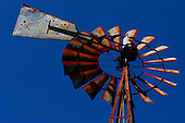 20th Century (old west style) Windmills Editorial and Stock Photos