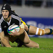 Tyler Bleyendaal, New Zealand, in action during the Australia V New Zealand Final match at the IRB Junior World Championships in Argentina. New Zealand won the match 62-17 at Estadio El Coloso del Parque, Rosario, Argentina. 21st June 2010. Photo Tim Clayton...