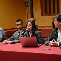 Toluca, México.- Omar Ivan Gomez Guzman, encabezó la conferencia del Foro de Fomento de las Organizaciones de la Sociedad Civil en el Instituto de Estudios Legislativos. Agencia MVT / Arturo Hernández.