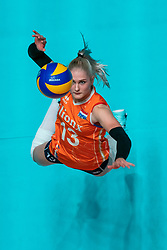 29-05-2019 NED: Volleyball Nations League Netherlands - Bulgaria, Apeldoorn<br /> Hester Jasper #13 of Netherlands