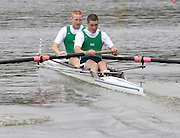 2005 Under 23's, Bosbaan Rowing Course, Amsterdam, NETHERLANDS. IRL BM2- Bow Vincent Tuane and Maitiu O'Cearrbhail.  22.07.2005 .© Peter Spurrier. .email images@intersport-images..[Mandatory Credit Peter Spurrier/ Intersport Images]