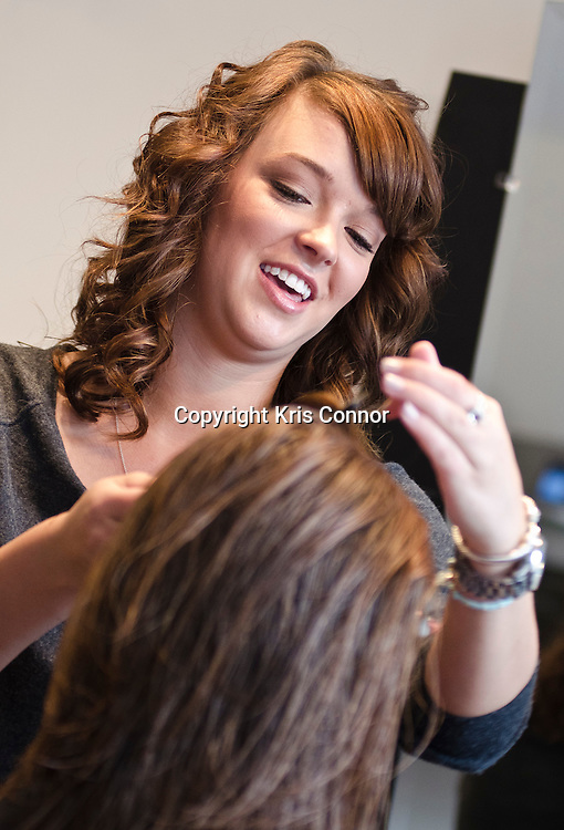Renee Ellison of Fringe Hair Studio in Geogetown in Washington DC. Photo by Kris Connor