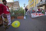 Castelfranco Emilia, Festa di San Nicola - Sagra del Tortellino (Tortellini Festival).<br /> Corteo Storico.
