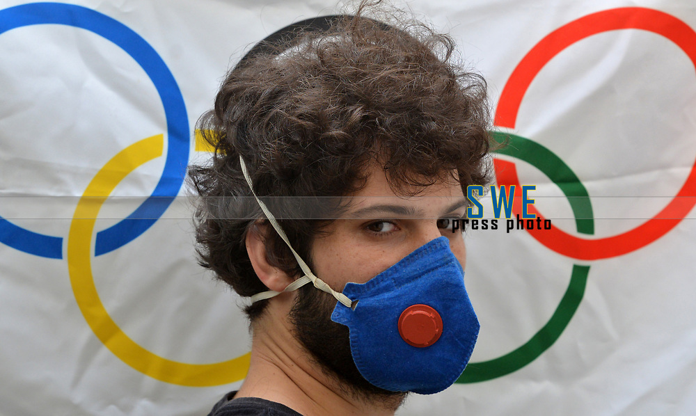 Rio de Janeiro- Brazil, March 19, 2020, Virus (covid19) threatens the realization of Tokyo's Olympic games
