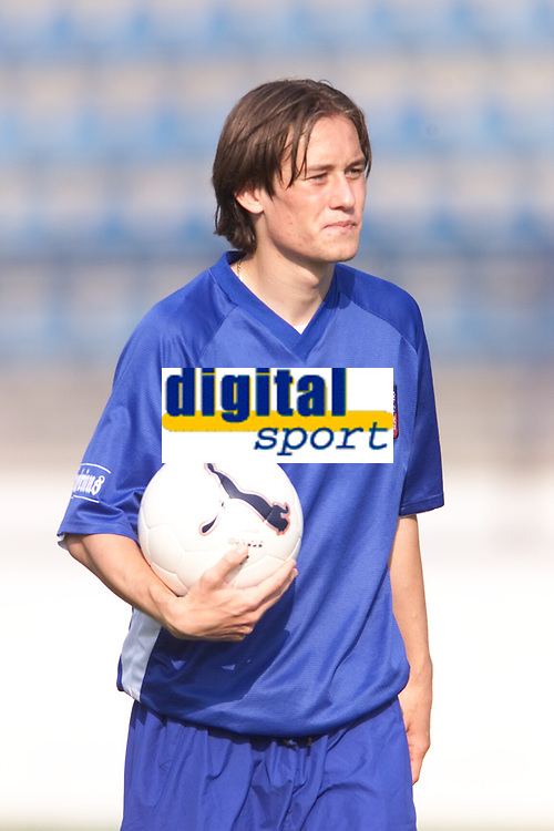 Fotball, Brussia Dortmund's Tomas Rosicky of the Czech Republic training at the Drnovice Stadium ahead of his country's friendly against South Korea.  (Foto: Digitalsport).