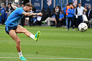 Sergio Ramos of Real Madrid pictured during Real Madrid training prior to their UEFA Champions League Final match against Atl&eacute;tico Madrid. San Siro, Milan, Italy.<br /> Picture by Kristian Kane/Focus Images Ltd 07814482222<br /> 27/05/2016