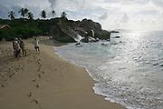 The Baths - giant boulders on the beach at Virgin Gorda.