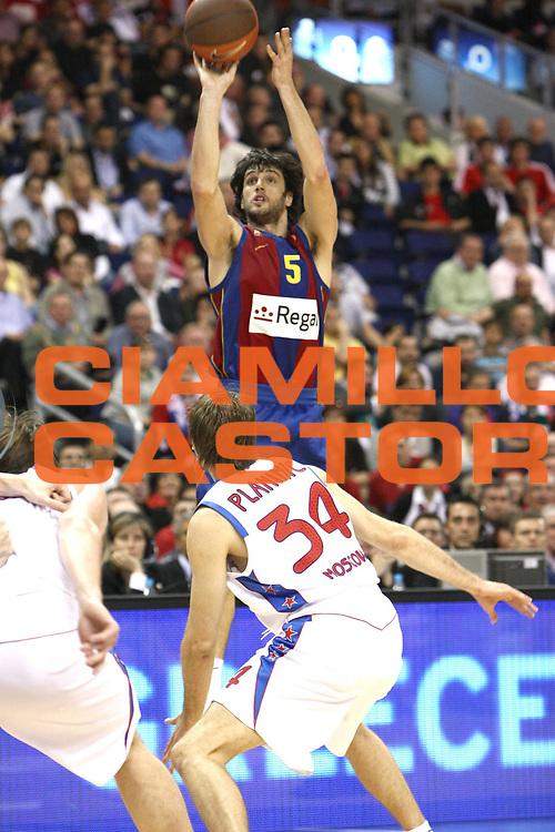 DESCRIZIONE : Berlino Eurolega 2008-09 Final Four Semifinale Regal Barcellona CSKA Mosca <br /> GIOCATORE : Gianluca Basile  <br /> SQUADRA : Regal Barcellona <br /> EVENTO : Eurolega 2008-2009 <br /> GARA : Regal Barcellona CSKA Mosca <br /> DATA : 01/05/2009 <br /> CATEGORIA : Tiro<br /> SPORT : Pallacanestro <br /> AUTORE : Agenzia Ciamillo-Castoria/C.De Massis