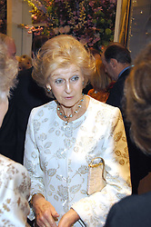 HRH PRINCESS ALEXANDRA at a fund raising evening in aid of the Royal National Lifeboat Institution at Garrard, 24 Albemarle Street, London W1 on 23rd April 2008.<br />