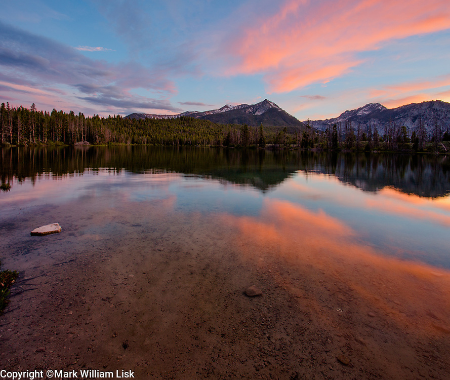Pettit Lake in the Sawtooth Wilderness.