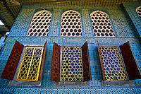 Interior, Topkapi Palace (Topkapi Sarayi), Istanbul, Turkey