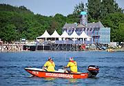 Nederland, Nijmegen, 26-5-2012Emporium dancefestijn, dancefeest, op de Berendonck. Discotheek, club the Matrixx organiseerde het openluchtfestijn met 20.000 bezoekers. De reddingsbrigade hield de wacht op het water.Foto: Flip Franssen/Hollandse Hoogte