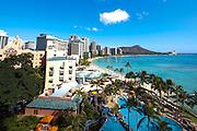 Sheraton, Waikiki, Honolulu, Oahu, Hawaii