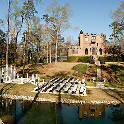 Photos from the wedding ceremony and reception for the Dephillips union between Alexa Leininger and Josh Dephillips at the Louisiana Castle in Franklinton, Louisiana.