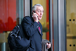 © Licensed to London News Pictures. 05/03/2017. London, UK. HILARY BENN leaves BBC Broadcasting House in London on 5 March 2017. Photo credit: Tolga Akmen/LNP