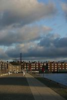 Canal quay, Dublin, Ireland
