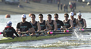 © Peter Spurrier / Sports Photo<br /> Tel +44 7973 819 551<br /> Photo Peter Spurrier<br /> 23/03/2003<br /> Varsity - Cambridge University Boat Club v Croatia<br /> Cambridge move away at the start of their race with the Crotia National Squard.