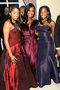 January 21, 2013-Washington, DC- (L-R) Lashawn White, Omarosa Manigault and Jacquline Drakeford attend the BET Networks Inaugural Ball held at the Smithsonian National Art Museum and National Portrait Gallery on January 21, 2013 in Washinton, D.C. The 57th Presidential Inauguration celebrates the beginning of the second term of President Barack H. Obama. (Terrence Jennings)