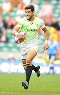 LONDON, ENGLAND - Sunday 11 May 2014, Chris Dry of South Africa during the Plate final match between South Africa and Kenya at the Marriott London Sevens rugby tournament being held at Twickenham Rugby Stadium in London as part of the HSBC Sevens World Series.<br /> Photo by Roger Sedres/ImageSA