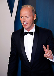 February 9, 2020, Beverly Hills, CA, USA: BEVERLY HILLS, CALIFORNIA - FEBRUARY 9: Michael Keaton attends the 2020 Vanity Fair Oscar Party at Wallis Annenberg Center for the Performing Arts on February 9, 2020 in Beverly Hills, California. Photo: CraSH/imageSPACE (Credit Image: © Imagespace via ZUMA Wire)