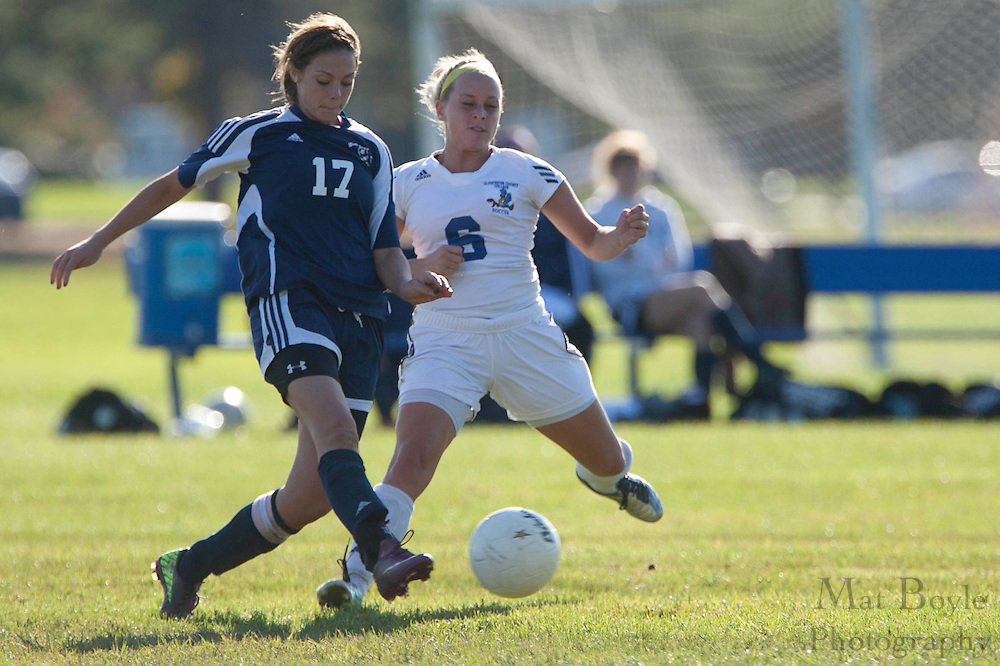 Gloucester County College Sophomore Midfielder / Forward Nicole Rothberg (6)..Gloucester County College defeats Middlesex County College 1-0 in a NJCAA Region XIX Semi-Final at Gloucester County College in Sewell, NJ on Tuesday, October 25, 2011.
