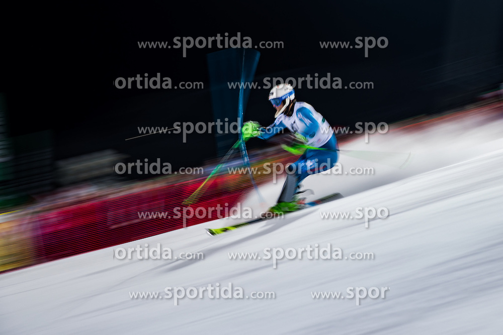 24.01.2017, Planai, Schladming, AUT, FIS Weltcup Ski Alpin, Schladming, Slalom, Herren, 1. Lauf, im Bild Sebastian Foss-Solevaag (NOR) // Sebastian Foss-Solevaag of Norway in action during his 1st run of men's Slalom of FIS ski alpine world cup at the Planai in Schladming, Austria on 2017/01/24. EXPA Pictures © 2017, PhotoCredit: EXPA/ Johann Groder