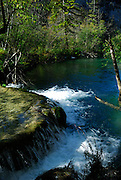 Small waterfall, Plitvice National Park, Croatia