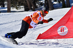 World Cup Banked Slalom, MENTEL-SPEE Bibian, NED at the 2016 IPC Snowboard Europa Cup Finals and World Cup