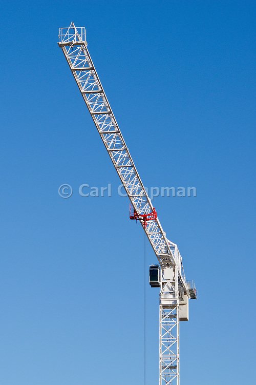 Construction Crane on building site