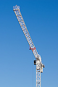 Construction Crane on building site <br />