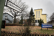 Exterior photograph on Sunday, Nov. 15, 2015, at the Dreieinigkeits-Gemeinde, a SELK Lutheran church in Berlin-Steglitz, Germany.  LCMS Communications/Erik M. Lunsford