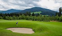 WESTENDORF -  Tirol   Oostenrijk,  - hole 16. Golfanlage Kitzbuheler Alpen Westendorf.    COPYRIGHT KOEN SUYK