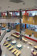 The new $55 million Furr High School, scheduled to open August, 2017. Three stories, open concept design.