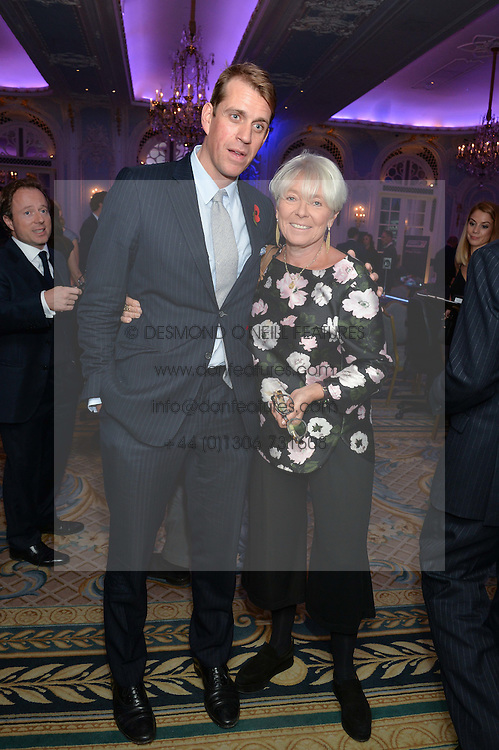 BEN ELLIOT and BENITA REFSON at the Quintessentially Foundation Poker Night in association with PokerStars in aid of Place2Be held at The Savoy, London on 22nd October 2015.